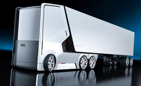 audi truck concept  electric rendered trucks