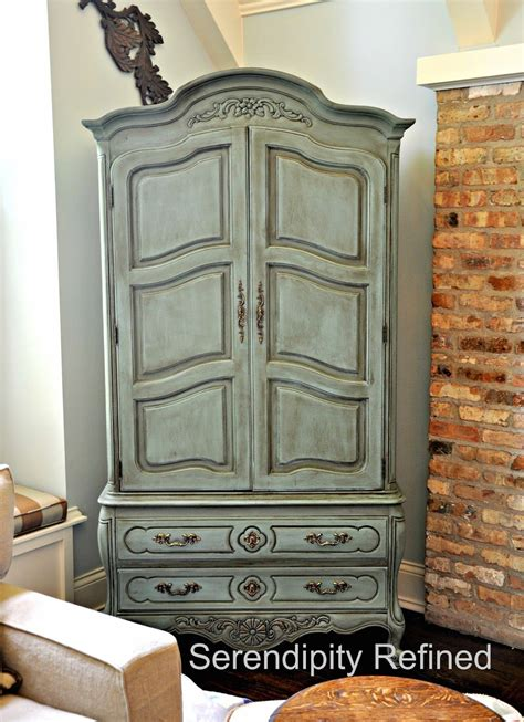 Painted Armoire Furniture Chalk Paint Armoire Search Store Interior