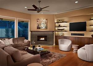 Fireplace shelves decorating ideas living room traditional ...