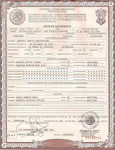 Photoshop templates etc on pinterest marketing templates and photoshop for Mexican birth certificate template