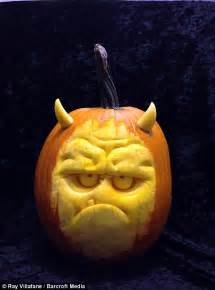Preserve Carved Pumpkin by Halloween Pumpkins By Professional Sculptors Are Glowing
