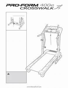 Proform Crosswalk 400e Treadmill
