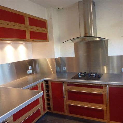 credence cuisine bois aménagement de cuisine en valchromat et chêne massif