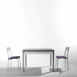 Petite Table En Verre : table en verre 4 pieds ~ Teatrodelosmanantiales.com Idées de Décoration