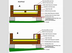 Insulating shed floor, small wood frame home plans, diy