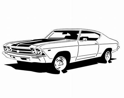 Chevelle Ss 1969 Clipart Scroll Saw 1970