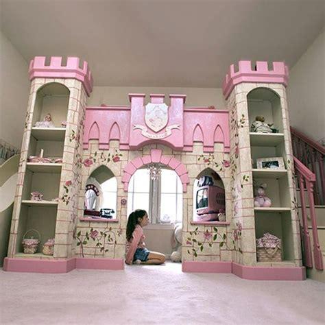 Kinderzimmer Mädchen Schloss schloss design vom m 228 dchenbett auf zwei etagen m 228 dchen