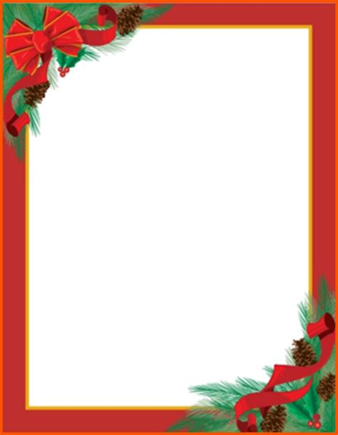 christmas templates for templates in word for