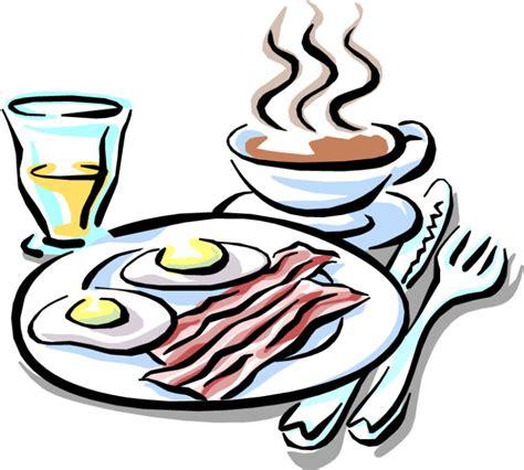 Cartoon Breakfast Clip Art