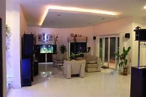 Indirekte Deckenbeleuchtung Wohnzimmer : deckenbeleuchtung wohnzimmer strahler ~ Michelbontemps.com Haus und Dekorationen