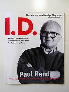 Artograph Design Master 2 Paul Rand A Profile Paul Rand Modernist Master 1914 1996