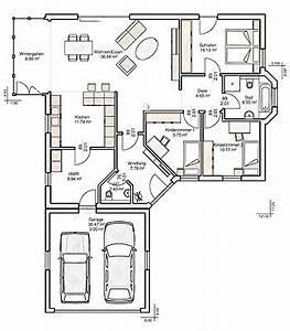 Lageplan Erstellen Online : grundriss bungalow 120 qm mit garage ~ Markanthonyermac.com Haus und Dekorationen