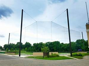 Custom Baseball Backstops Netting