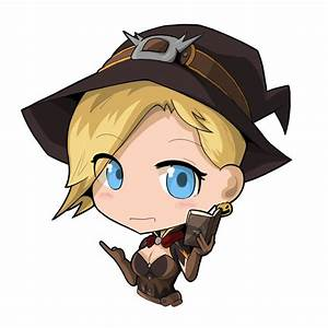Mini Witch Mercy Overwatch Mercy Fanart Inven Global