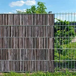 Doppelstabmattenzaun Sichtschutz Motiv : holzbohle doppelstabmatten sichtschutzstreifen ohne pvc ~ A.2002-acura-tl-radio.info Haus und Dekorationen