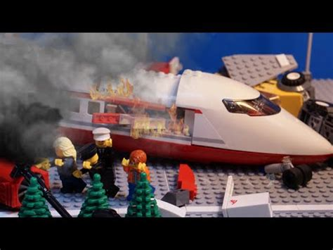 lego airplane hijack youtube