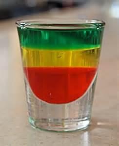 Bob Marley Cocktail Drink