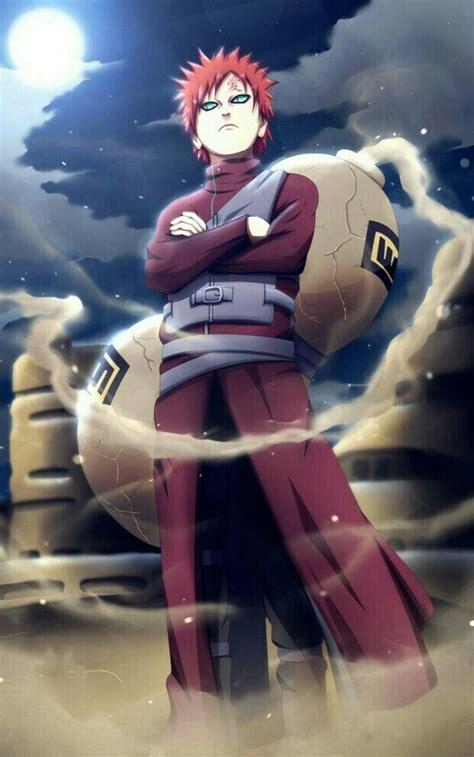gaara del desierto personagens de anime anime naruto