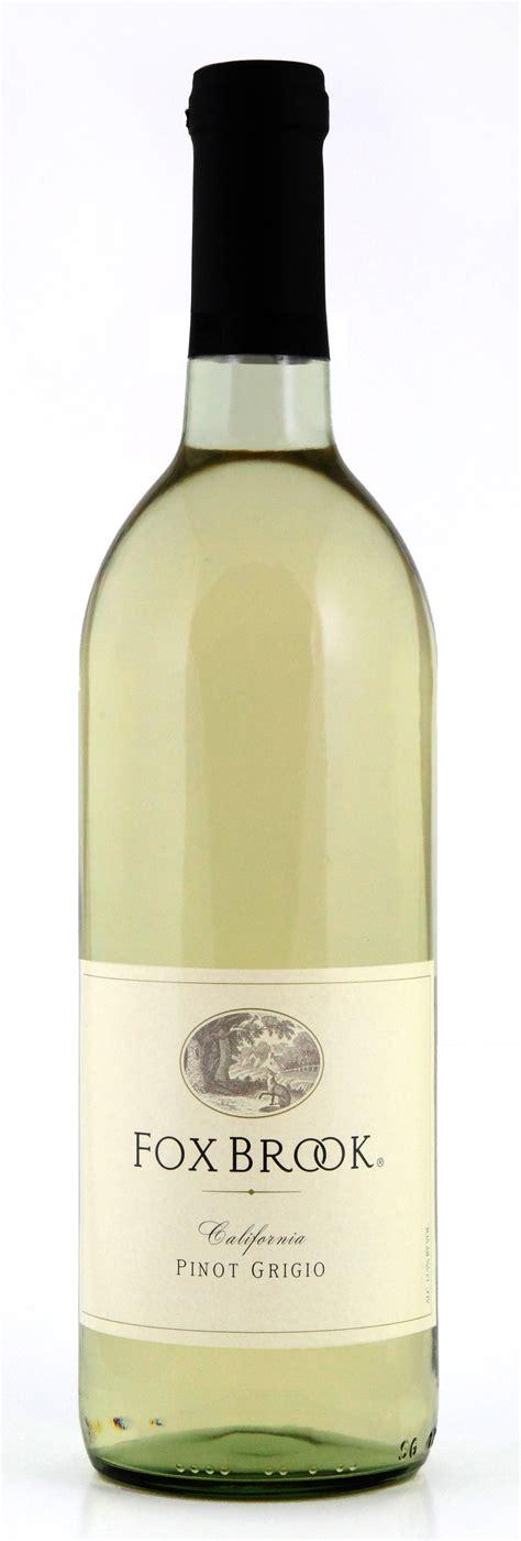 Fox Brook Winery Pinot Grigio - Bronco Wine