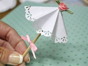 DIY Paper Doily Parasol Picks – Factory Direct Craft Blog