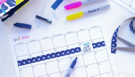 custom editable   printable calendars sarah titus