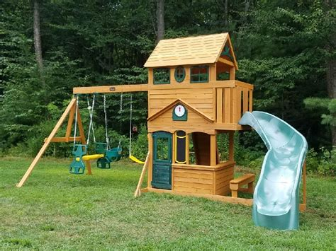 playsets for swing sets for small backyard amys office inside big