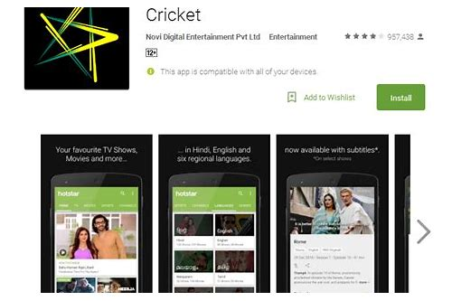 hotstar live tv mobile apps download