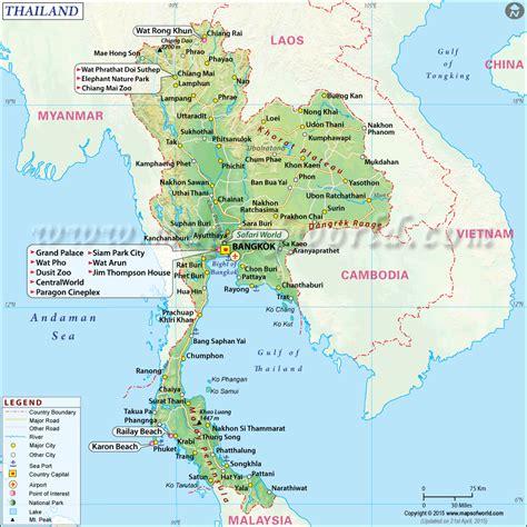 de cuisine thailandaise carte de thailande consultez la carte touristique du