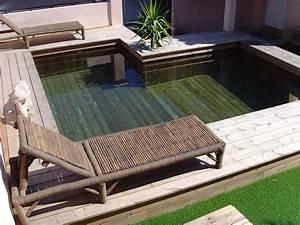 Piscine Semi Enterré Bois : installateur de piscine en bois semi enterr e en paca 83 ~ Premium-room.com Idées de Décoration