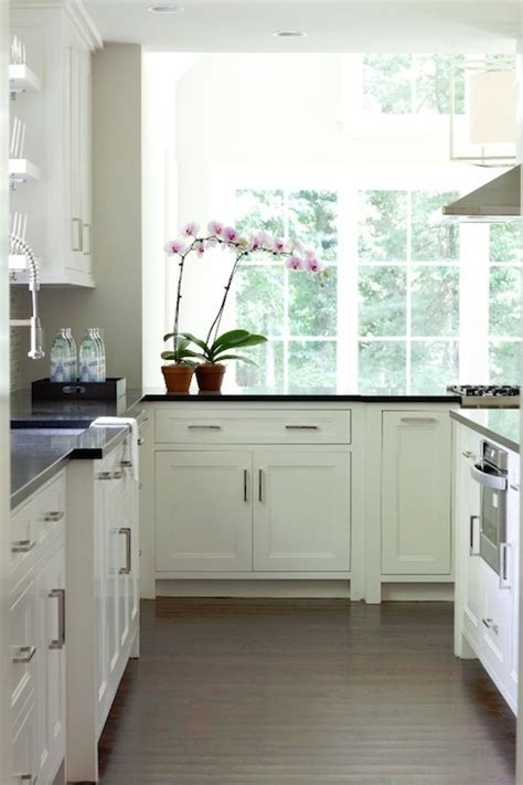 White Inset Cabinets   Contemporary   kitchen   Milton