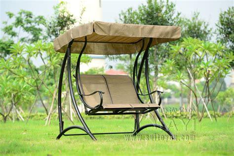 2 person patio garden swing outdoor hammock hanging chair