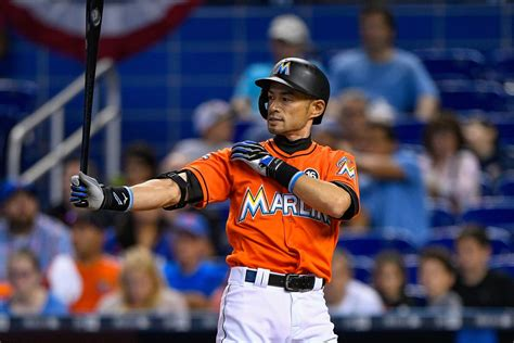 Ichiro Suzuki Baseball Reference by Series Preview Mariners 5 8 Vs Marlins 7 5 Lookout