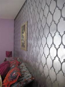 Cutting Edge Stencils: Don't be a Bore, use Metallic Wall ...