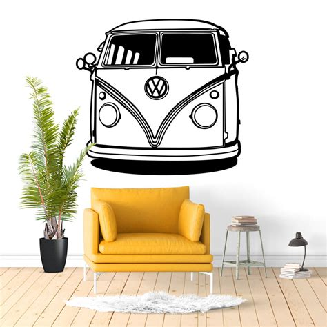 vw kitchen accessories vw cer wall decal sticker vinyl decor mural bedroom 3299