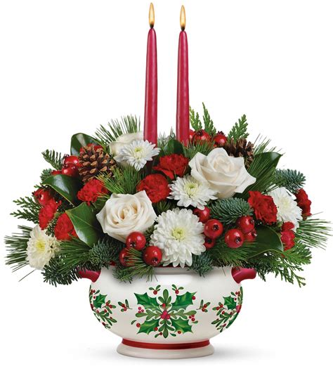 Conklyn's Flowers Holiday Centerpieces