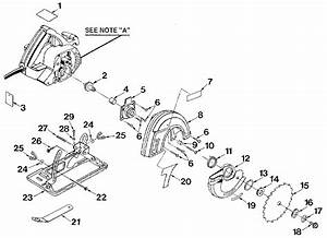 Craftsman 315108240 Circular Saw Parts