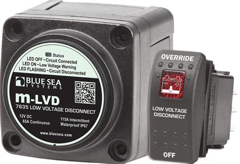 Lvd Low Voltage Disconnect Blue Sea Systems