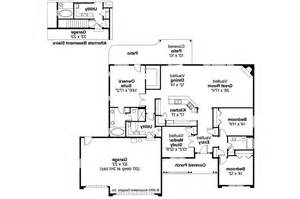 ranch floor plan ranch house plans fieldstone 30 607 associated designs