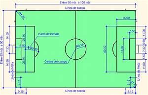 OFICAD Dimensiones de un Campo de Fútbol