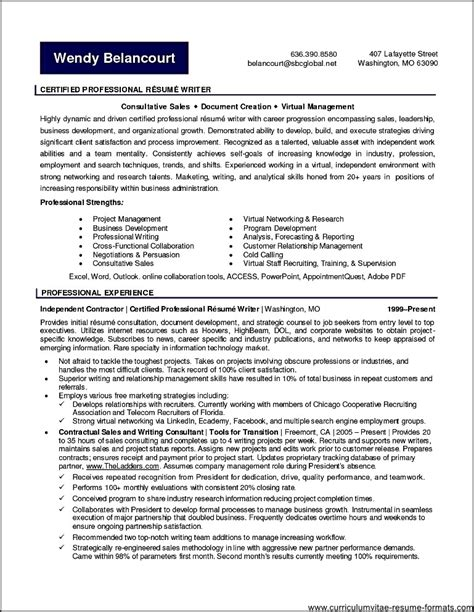 Professional Resume Writers by Free Professional Resume Writers Free Sles Exles