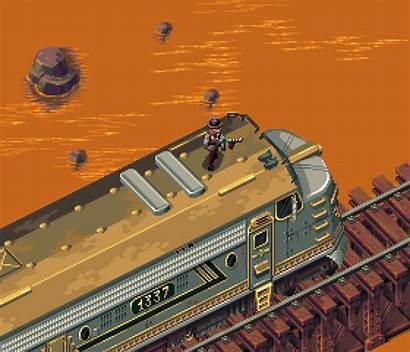 Retro Shooter Demo Pixel Train Slick Gifs