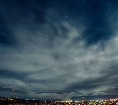 Langit Malam Pemandangan Android Sc Ipad Gambar