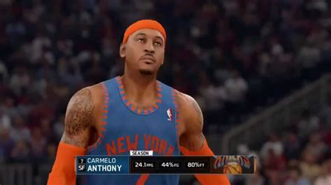 NBA LIVE 16 Carmelo Anthony/ Who got NEXT/ N.Y Vs HOU ...