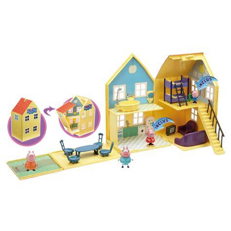 maison peppa pig jouet peppa pig maison de luxe avec 2 personnages giochi king jouet h 233 ros univers giochi jeux d