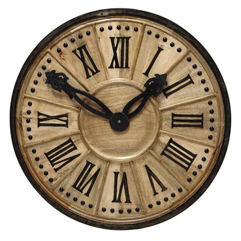 Deco Cuisine Scandinave - horloge décorative en bois d 120 cm langlois maisons du