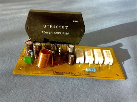 Stk Audio Amplifier With