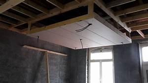 plafond suspendu avec led dootdadoocom idees de With carrelage adhesif salle de bain avec fixer ruban led plafond