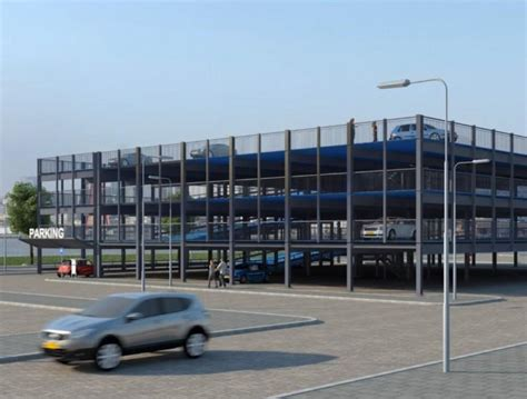 Garage Kopen Rotterdam by Rotterdam Krijgt Mobiele Parkeergarage Parkeer24