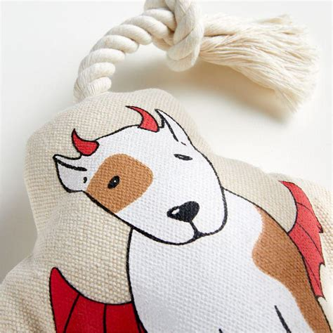 Harry Barker ® Angel Devil Stuffed Dog Toy | Crate and ...