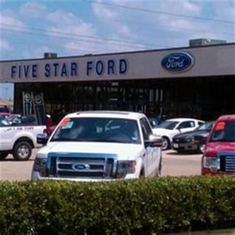 Five Star Ford Of Plano   Car Dealers